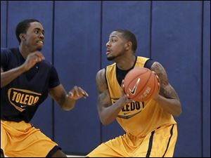 The University of Toledo men's basketball team begins its season today at Loyola.