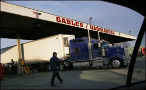 The Gables truck stop just northeast of Harrisburg became a focus of the 'Innocence Lost' investigation by federal authorities.