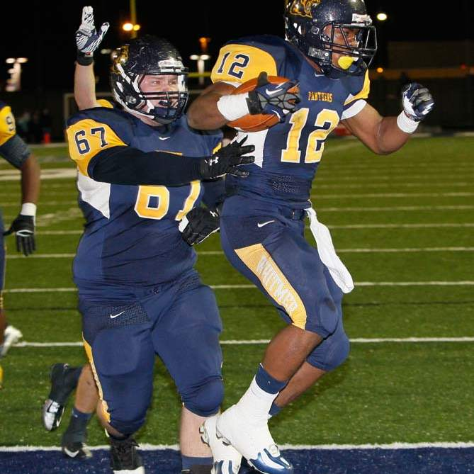 Whitmer-football-touchdown-dance