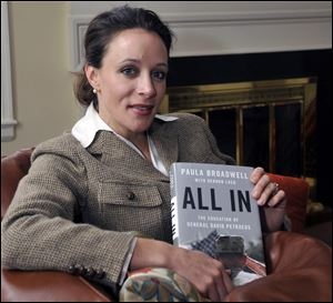 Paula Broadwell is the author of the David Petraeus biography