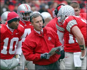 A man who reached the top of his profession before plummeting from grace has regrets. Jim Tressel says he just has no time for them.