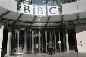 The BBC, headquartered in this in London building, has served as the voice of Great Britian, exporting its culture to a worldwide audience.