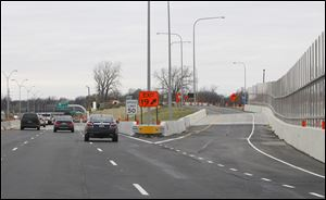 The Ohio Department of Transportation opened the ProMedica Parkway exit from westbound I-475.