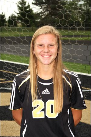 Perrysburg senior soccer player Mollie Whitacre.