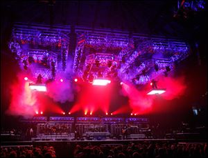 Trans-Siberian Orchestra will perform at 2:30 p.m. and 7 p.m. today at Huntington Center. The matinee is sold out, but tickets remain for the evening show.