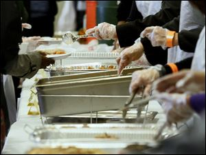 Thanksgiving-style meals will be offered this week by a number of area charities, churches, and community groups.