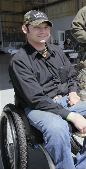 Tony Nickolite was 26 when his life changed forever. The Sylvania Township man was living on his own in Nebraska, going to school, working, and helping raise a young daughter when he was thrown out of his vehicle during a rollover crash. The impact left him paralyzed from the waist down. Three years later, he has moved in with his parents and spends most of his time in a wheelchair. What he finds he needs most, he said, is someone to understand and a place to give him hope.