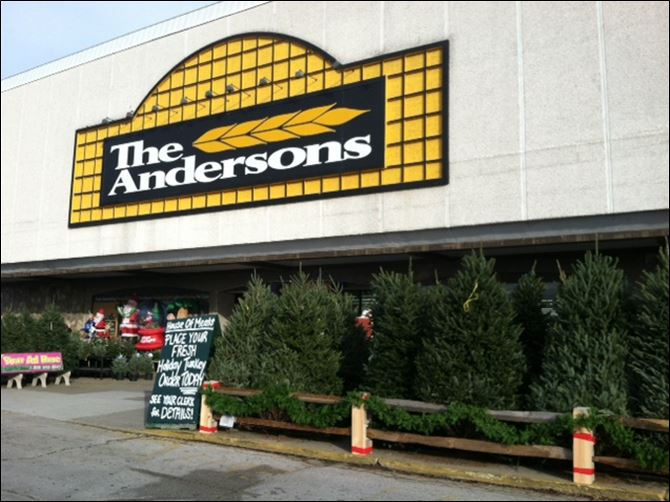 Andersons in Northwood Dan Anderson, president of The Andersons retail group, said the Woodville Mall's closing last December and the building's continuing deterioration led to the decision.