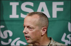 Gen. John Allen, then top commander of U.S. and NATO forces in Afghanistan.