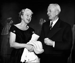 Margaret and Harold Anderson are seen in this 1955 Blade file photo.