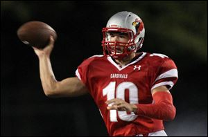 Mentor's Mitch Trubisky could be named Ohio's Mr. Football next week. He has completed 66.7 percent of his passes for 3,712 yards and 39 touchdowns in 13 games this season.