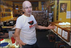 Amjad Doumani, owner of B-Bop Records/Third Space, says local businesses are key to a healthy community.