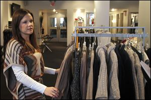 Lauren Deis  of Sophie's Sister clothing store in downtown Toledo says small-business owner know their customers can go elsewhere, so they work to offer unusual, high-quality goods and services.