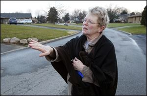 Kathy Connelly, 70, a resident of the Brandywine condominium complex describes what happened when the fire broke out.