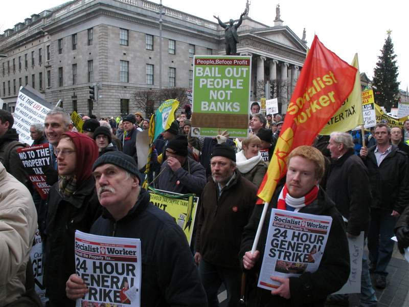 Ireland-Austerity-protestors