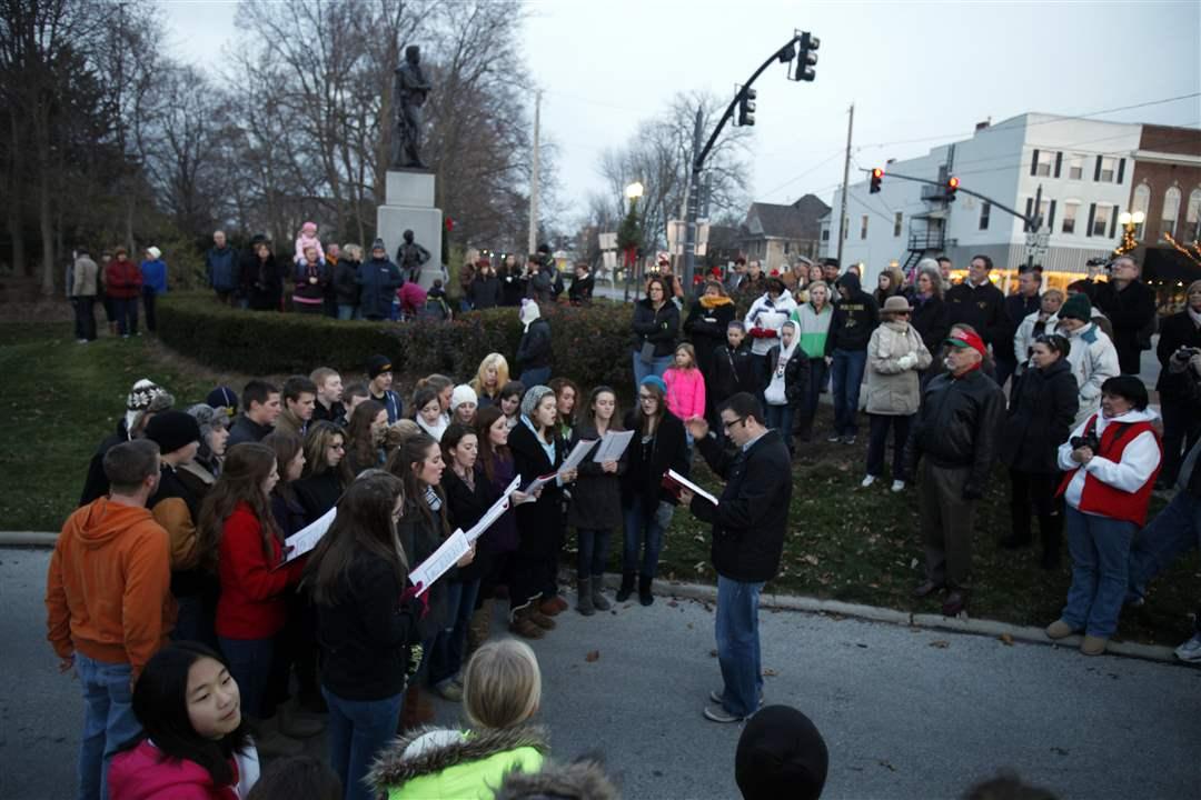Home For The Holidays Parade Perrysburg Ohio