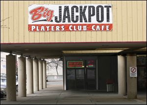 Players Club Cafe  in East Toledo is one of 49 establish-ments in Lucas County registered with the state.