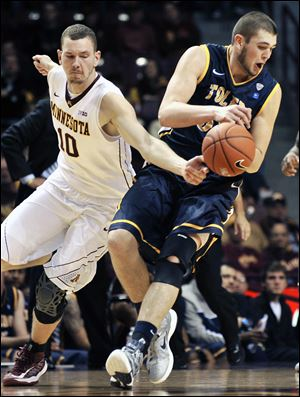 Toledo's Nathan Boothe is averaging 7.8 points and 5.0 rebounds per game.