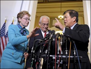 Rep. Marcy Kaptur, D-Ohio, hopes to be the top Democrat on the House Appropriations Committee.