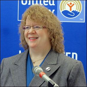 "New United Way of Greater Toledo President and CEO Karen Mathison has a passion for the agency. ""I've made it my life's work,"" she says."