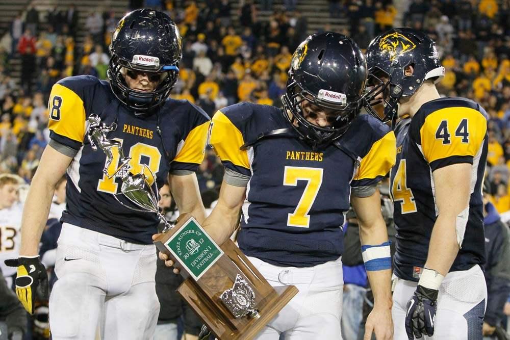 Whitmer-at-state-runner-up-trophy