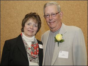 Sharon and Dan Farrell, Outstanding Philanthropist honorees for their support of ProMedica Defiance Regional Hospital.