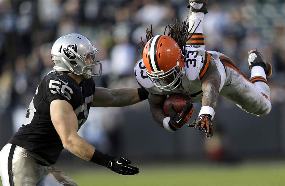 APTOPIX-Browns-Raiders-Football-2