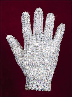 Costumes worn by Michael Jackson commanded hundreds of thousands of dollars at auction, and Lady Gaga was among the collectors.