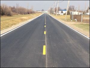 Glenwood Road in Perrysburg Township is finished and ready for drivers.