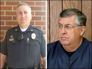 Perrsyburg Township Police Chief Mark Hetrick, and township administrator John Hrosko are retiring at the end of December.