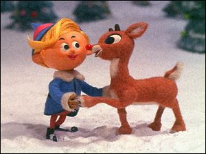 Hermey, the elf who wants to be a dentist, stars in the classic holiday special 'Rudolph the Red-Nosed Reindeer' Friday on CBS.