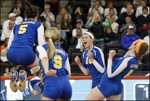 St. Ursula made its eighth trip in the past 12 years to the state semifinals.
