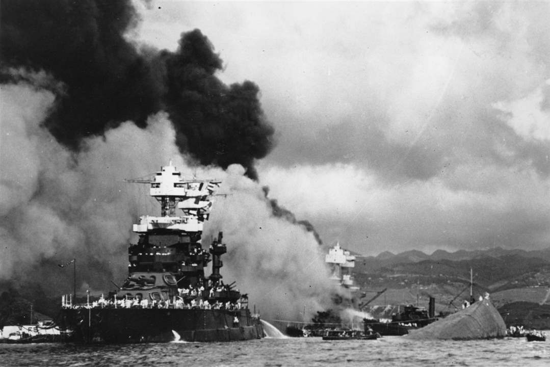 The-battleship-USS-West-Virginia