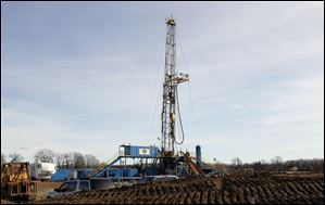 Savoy Energy and West Bay Exploration, both based in Traverse Bay, Mich., have oil operations in Lenawee and Jackson counties. Pat Gibson of West Bay says no fracking is being used to extract energy.