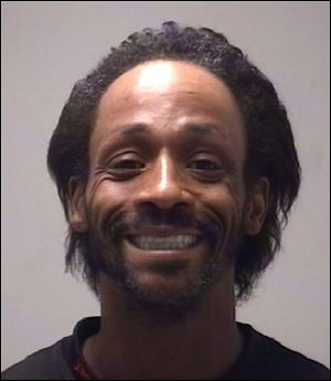 Comedian and rapper Katt Williams' booking photo from an arrest in November, 2009.