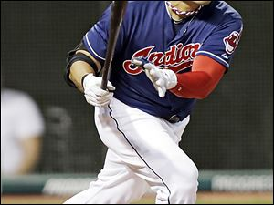 Cleveland traded outfielder Shin-Soo Choo on Tuesday to Cincinnati, part of a three-team, nine-player trade that's been a week in the making.