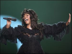 Donna Summer, in this file photo, is among the inductees to the Rock and Roll Hall of Fame.
