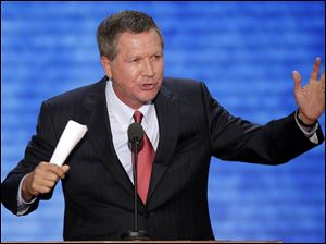 A new poll shows 42 percent of Ohio voters approve of the job Gov. John Kasich is doing.