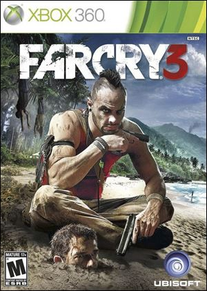 """Far Cry 3"" for the Xbox 360, PlayStation 3 and PC. The game is rated M, for Mature."