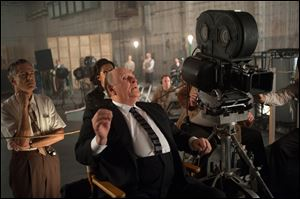 Anthony Hopkins as Alfred Hitchcock in the new film