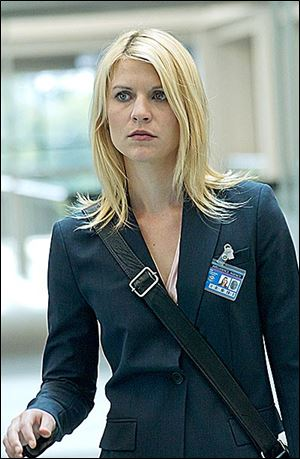Claire Danes portrays Carrie Mathison in Showtime's 'Homeland.'