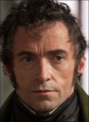 Hugh Jackman shows a different side in 'Les Miserables.'