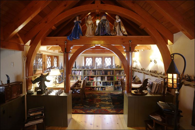 House Fit For Hobbits Arises Far Away From The Shire In