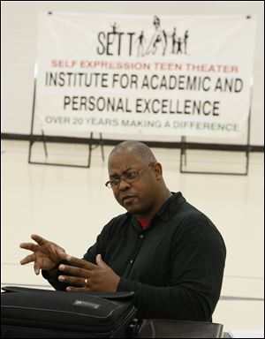 Washington Muhammad coordinates the center's Self Expression Teen Theater, an after-school program in which teens perform skits and talk about the risks of sex, alcohol, tobacco, gangs, and other issues. 'When teens talk to teens, it's not corny or preachy,' Mr. Muhammad says. 'The message is received.'