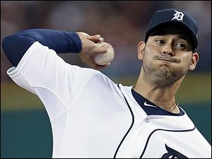Anibal Sanchez agreed to a reported $80 million, five-year contract with the Tigers. He had a 1.77 ERA in three postseason starts.