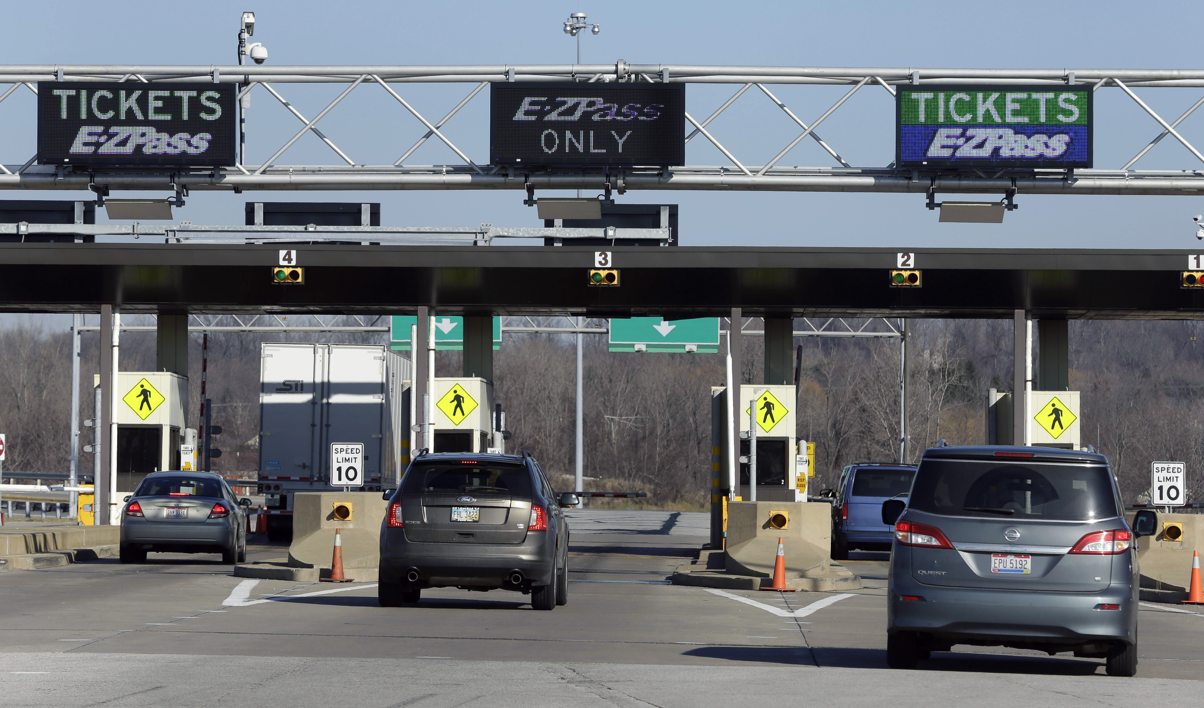 north ohioans rankled  plan  turnpike tolls  blade