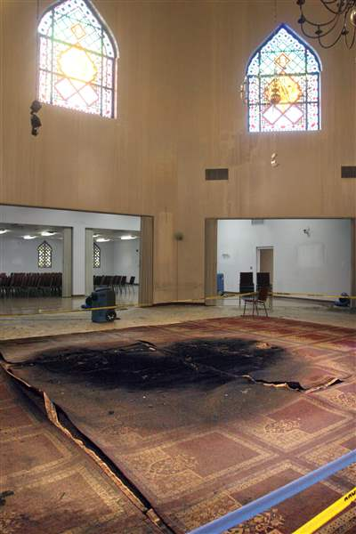 Man pleads guilty to 3 counts in Islamic Center mosque fire The Blade