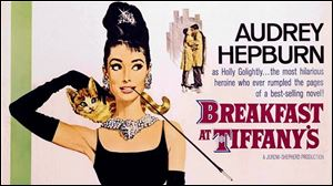 """Breakfast at Tiffany's"" will be inducted into the National Film Registry, the Library of Congress has announced."