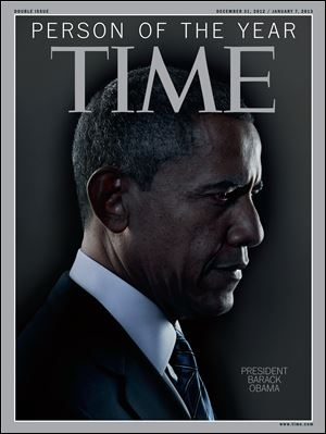 President Obama is Time Magazine's Person of the Year, NBC's 'Today' show announced.