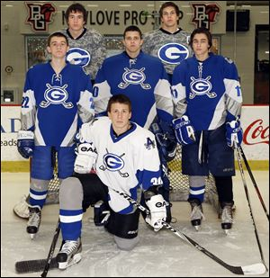 Anthony Wayne looks to win the White Division with (front) Harry Pawliski; (second row, from left) Sam Spencer, Chris Podbielniak, and Brandon Zielinski; and (back) Cal Johnson and Chris Miller.